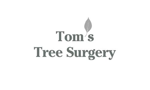 om s Tree Surgery Logo Grey